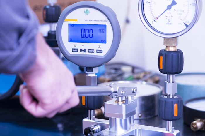 Kalibrierung von Drucktransmittern