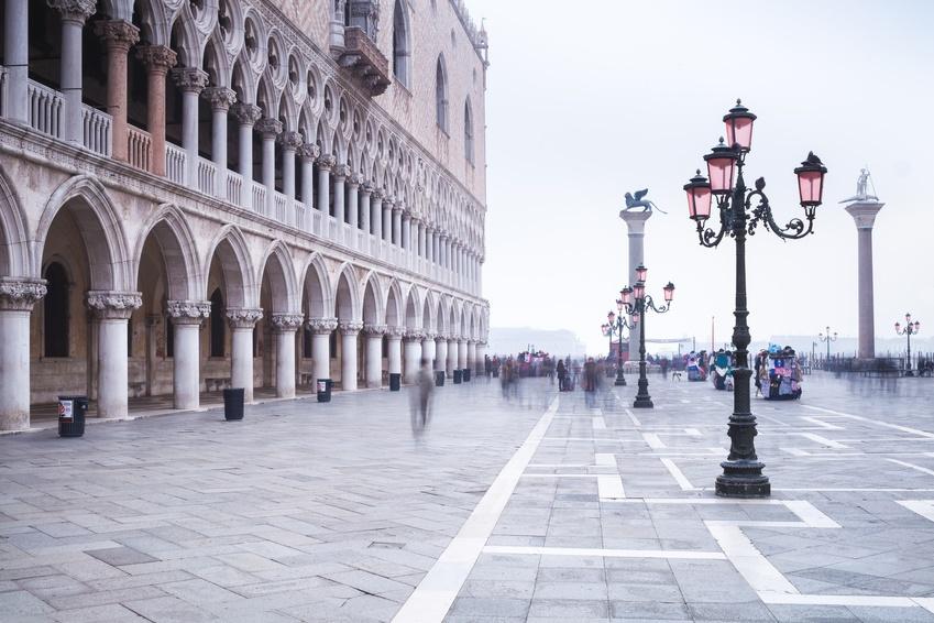 Pegellogger überwachen Wasserstand in Venedig