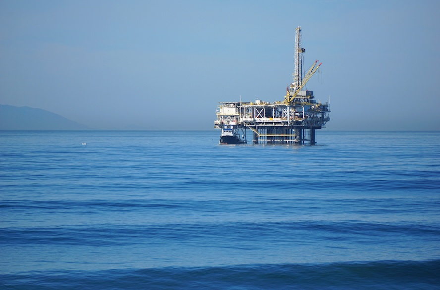 Öl-Prospektion unter dem Meeresboden