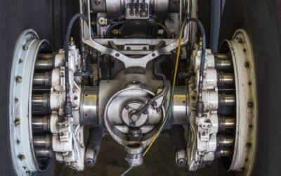 Les tests de pression hydraulique des trains d'atterrissage