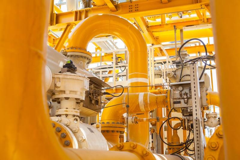 Density measurement in gas flow meters