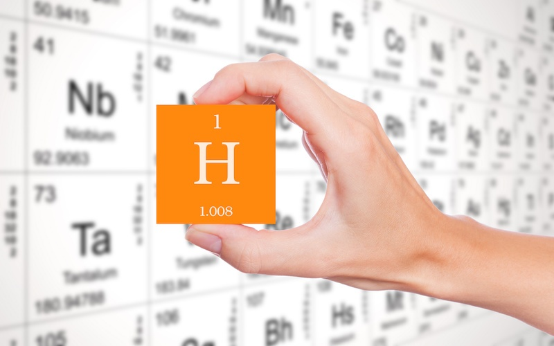 Hydrogen embrittlement in steel